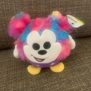 Disney slo foam tie dye Mickey Mouse plush